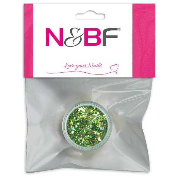 Nails-and-Beauty-Factory-Nailart-Illusion-Glitter-Light-Green