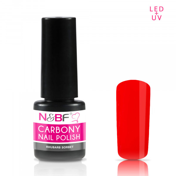 Nails & Beauty Factory Carbony Nail Polish Rhubarb Sorbet