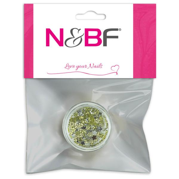 Nails-and-Beauty-Factory-Strasssteine-Blumen-Rhinestones-Flowers-Lemon-Ice