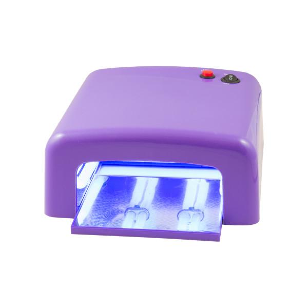 Nails & Beauty Factory UV Lichthärtungsgerät eckig Lila