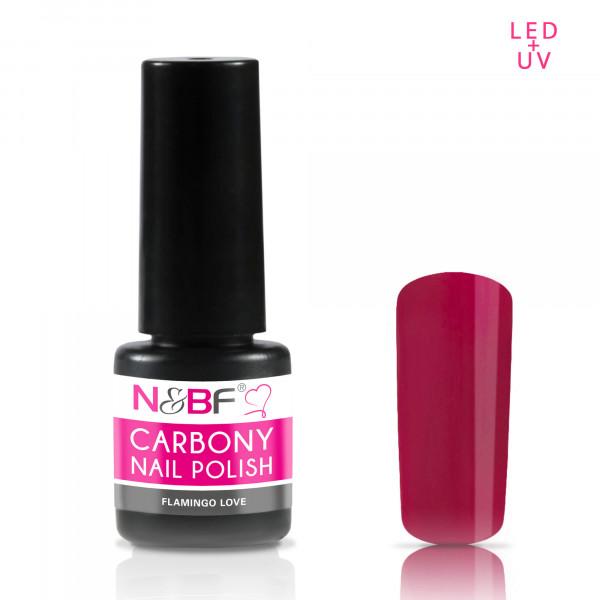 Nails & Beauty Factory Carbony Nail Polish Flamingo Love
